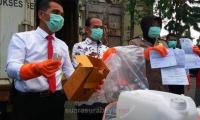 Polisi Amankan 196 Kilogram Limbah Medis Bermasalah
